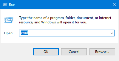 windows run dialogue